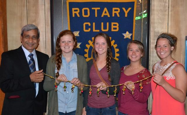 Monday, April 27, 2015 Guest Speaker Dr. Dubey & Interact Club