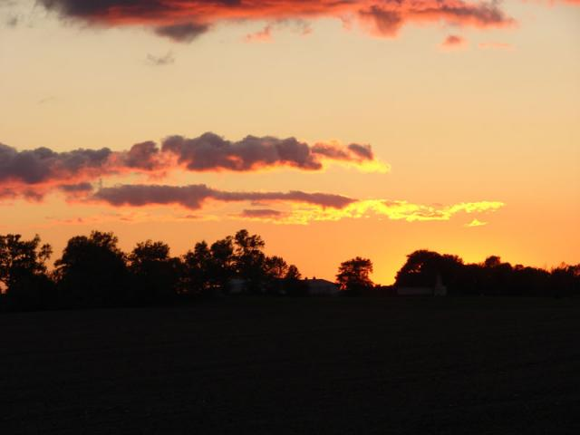 Parke County Sunset